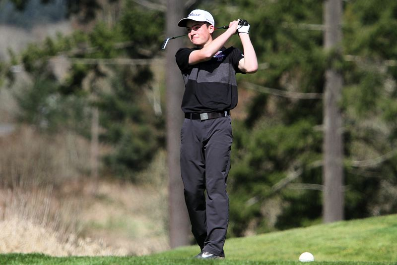 PAMPLIN MEDIA GROUP: MILES VANCE - Sherwood sophomore Mason Bonn claimed medalist honors at Mondays season-opening Three Rivers League boys golf tournament.