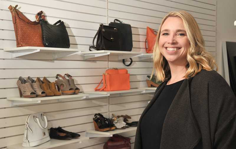Tamara Young, owner of Consign Couture, offers a wide range of high-end women's, children's and men's fashions and accessories. She has opened a shop in downtown Lake Oswego. The original shop is located in the St. John's district of Portland.