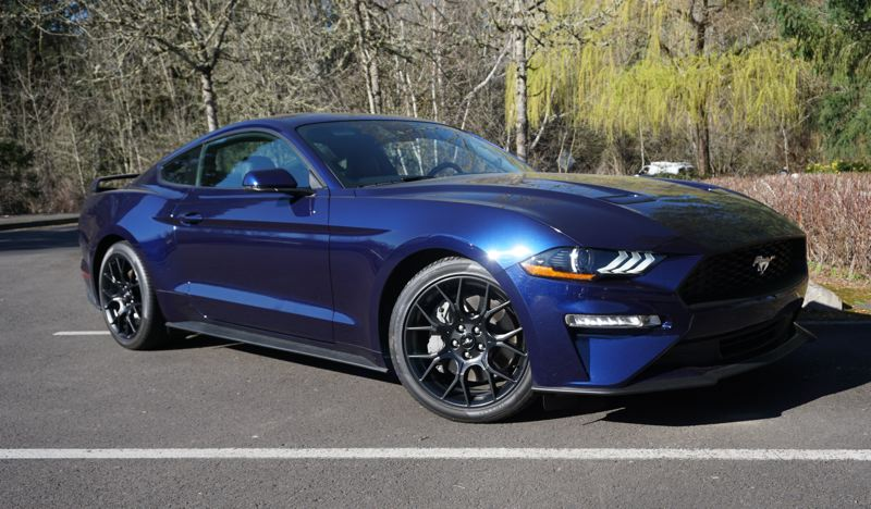 PORTLAND TRIBUNE: JEFF ZURSCHMEIDE - The new Mustang remains one of the best-looking cars on the market. The Mustang's sleek design suggests speed and power, without looking like it's trying too hard.