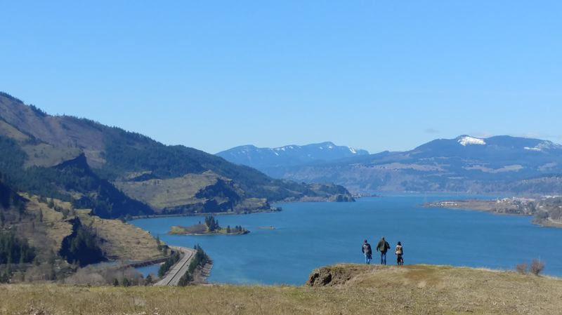 TRIBUNE PHOTO: JENNIFER ANDERSON - Looking for things to do during spring break? Try a spring break hike, including Mosier Plateau, just east of Hood River. It's a 3 1/2-mile trek along switchbacks, and it's suitable for kids and dogs.