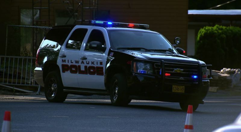 KOIN 6 NEWS PHOTO - An undated photo of a Milwaukie Police Department vehicle.