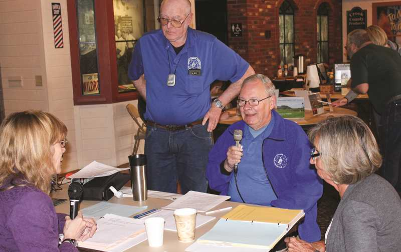 CENTRAL OREGONIAN FILE PHOTO - Rotary on the Radio, a scholarship fundraiser that will be held this year on April 2 at Bowman Museum, invites people from different organizations to visit throughout the day and talk on the air. In addition, people can make requests or buy ads that will be read over the radio.