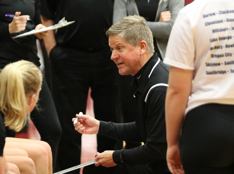 PAMPLIN MEDIA: JIM BESEDA - Oregon City's Kurt Guelsdorf ranks eighth in career wins among Oregon's girls' basketball coaches with 451 over 21 seasons -- six at Gresham and 15 at Oregon City.