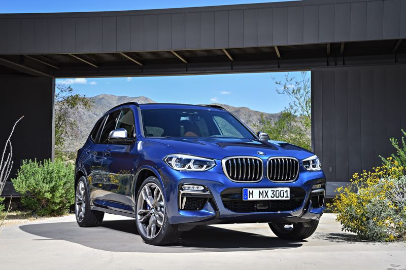 BMW NORTH AMERICA - The 2018 BMW X3 xDrive M40i benefits from the company's aggressive but not over-the-top styling. It comes with the legendary turbocharged 3.0-liter inline six engine.