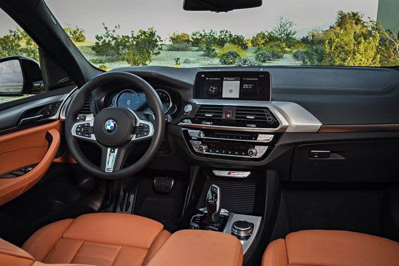 BMW NORTH AMERICA - The interior of the X3 inlcudes all the luxury touches and technology features that BMW fans have come to expect.