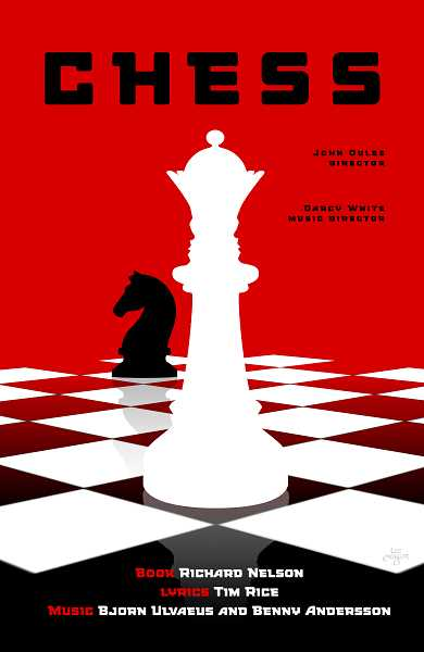 PHOTO COURTESY OF LEE MOYER - 'Chess' is scheduled from July 6-Aug. 12 on Lakewood Theatre Company's Mainstage.