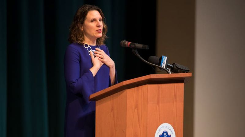 COURTESY PHOTO - Multnomah County Chair Deborah Kafoury gave the 2018 State of the County.