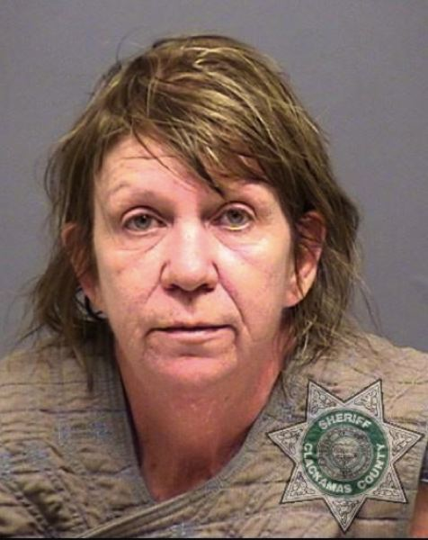 CONTRIBUTED PHOTO: CLACKAMAS COUNTY SHERIFF'S OFFICE - Roxanne Martin, 56, of Sandy was arrested as a suspect in the murder of Norman Charles Terrill, Sr.