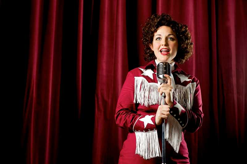"SUBMITTED PHOTO: CRAIG MITCHELLDYER  - Sara Catherine Wheatley in ""Always… Patsy Cline"" at Broadway Rose Theatre Company in 2013."
