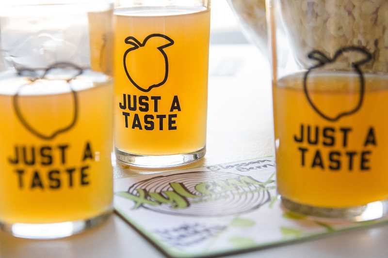 COURTESY XYLEM CIDER WORKS - Cider flights are available at the Xylem Cider taproom.
