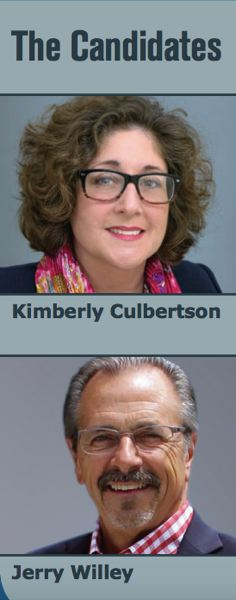 COURTESY: CPO 15 - Kimberly Culbertson and Jerry Willey are running for Washington County Board of Commissioners, District 4.