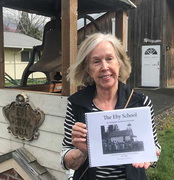 Margaret Anderson Branson will donate proceeds from the sale of her book to the Molalla Area Historical Society.