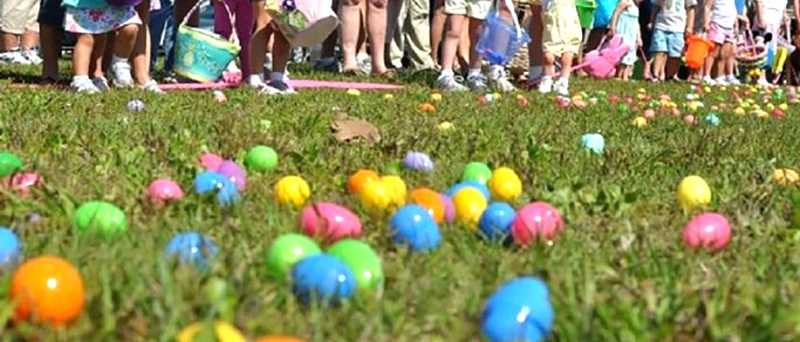 Several Easter egg hunts are available this weekend.
