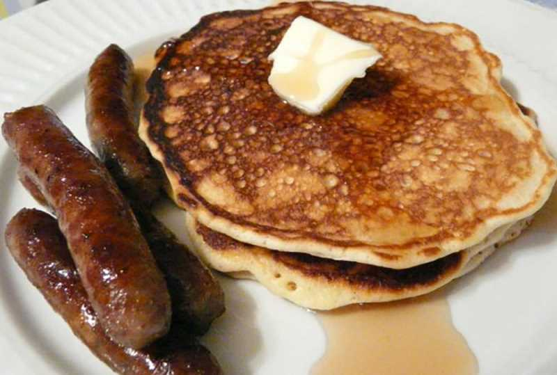 Enjoy a pancake breakfast on Sunday at the Canby American Legion Post.