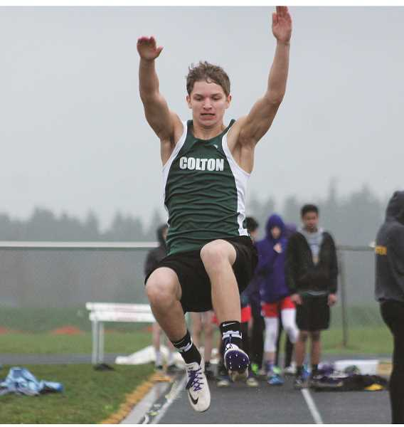 Colton's Wyatt Earls had some solid performances at Molalla