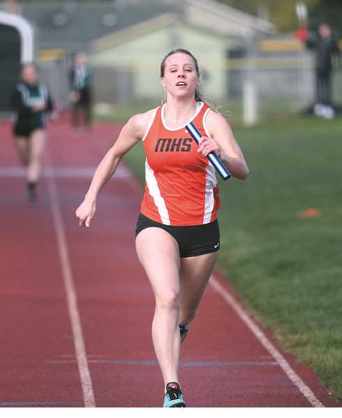 Molalla's track team hosted the Mid-Valley Matchup on Thursday.