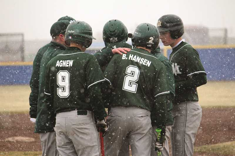 COURTESY PHOTO: ANNA ILIYN - The No. 1 North Marion baseball team has compiled a 7-0 record this season largely against teams that made last year's playoffs and are currently ranked in the top 10 of the OSAA standings.