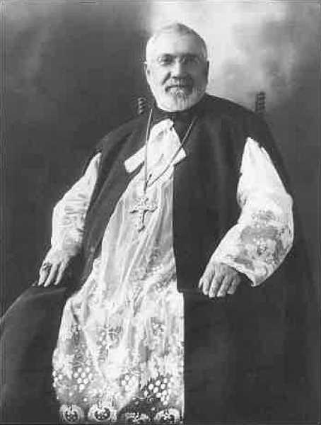 COURTESY PHOTO: MOUNT ANGEL HISTORICAL SOCIETY - Mount Angel Abbey was founded in part by Father Adelhelm Odermatt in 1884.