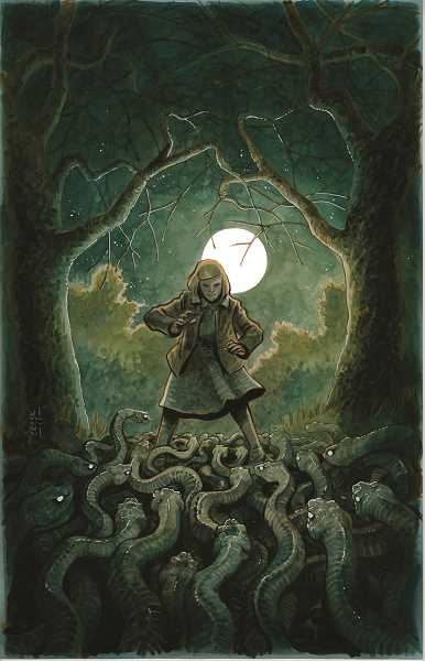 CONTRIBUTED PHOTO: CLACKAMAS COMMUNITY COLLEGE - 'SKELETONS: The spooky comic book of Tyler Crook' will open at the colleges Alexander Gallery on Monday, April 2.