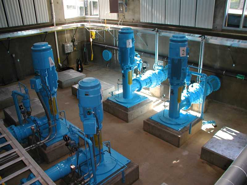SUBMITTED PHOTO: CITY OF WILSONVILLE - Wilsonville will retain all over of its pump slots at the Willamette River Water Treatment Plant.
