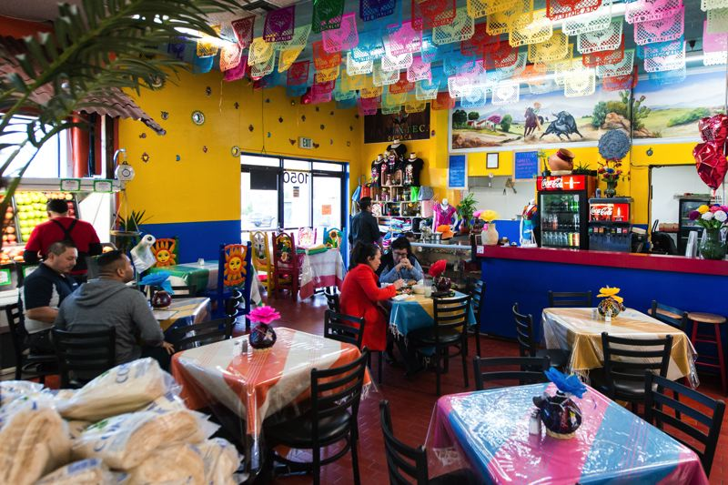 STAFF PHOTO: CHRISTOPHER OERTELL - The La Mixteca Oaxaca restaurant, owned by class participants, is located inside the Su Casa Super Mercado in Hillsboro.