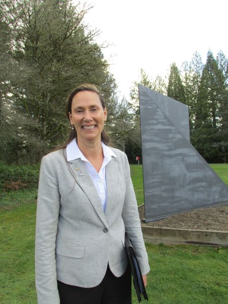 OUTLOOK PHOTO:TERESA CARSON - Lisa Skari, a top executive at Highline Community College will be the 11th president of Mt. Hood Community College.