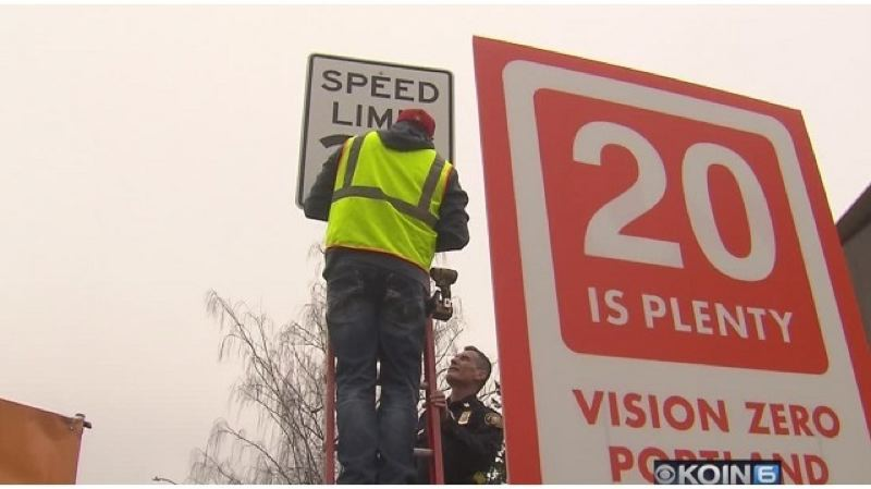 Pamplin Media Group - Portland cuts speed limit, launches