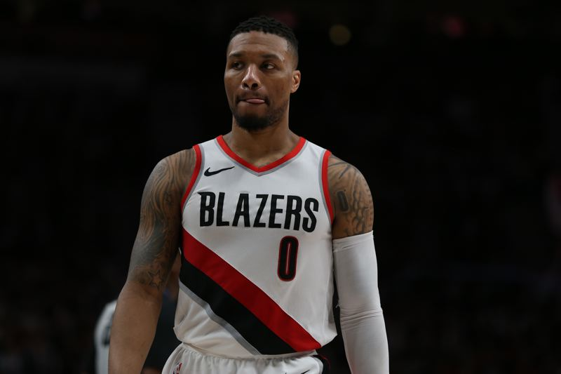 TRIBUNE PHOTO: JESSIE DARLAND - Trail Blazers guard Damian Lillard says he's looking forward to the remaining regular-season games, and maybe even to getting a little rest before the NBA playoffs.