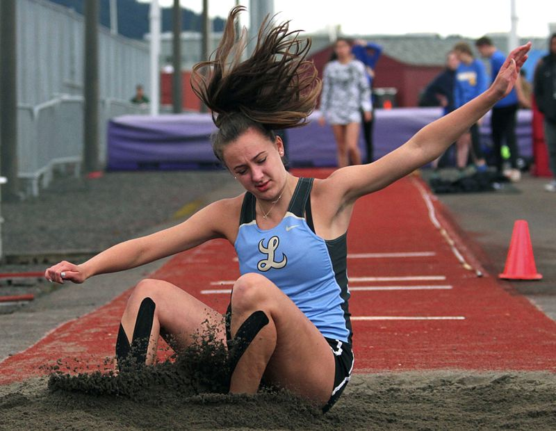 REVIEW FILE PHOTO - Lakeridge sophomore Allison Coder returns as one of the Pacers' better jumpers after competing in the Three Rivers League long jump a year ago.
