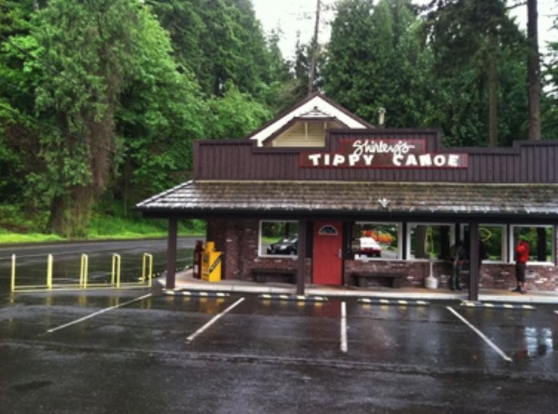 CONTRIBUTED PHOTO  - The Tippy Canoe has served loggers and locals since the 1940s.