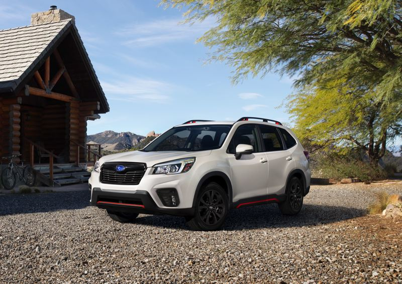 COURTERSY SUBARU - Subaru's EyeSight safety and convenience system is standard on the larger 2019 Forester.