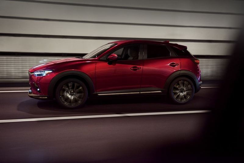 COURTESY MAZDA - Mazda offered the first updates to its subcompact CX-3 SUV, a, including a more refined and fuel-efficient SKYACTIV-G engine to the vehicle.