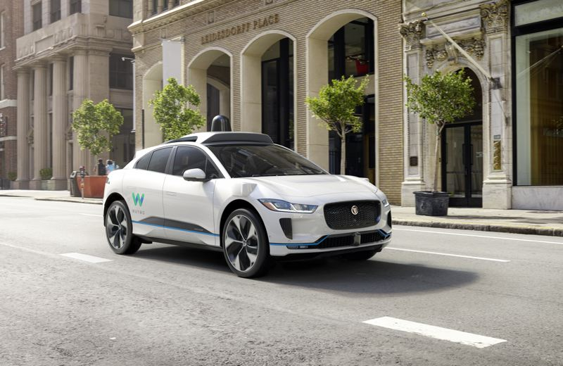 COURTESY JAGUAR - Jaguar is giving show-goers their first look at the all-electric I-PACE compact SUV.