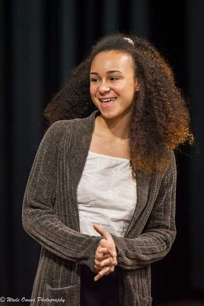 SUBMITTED PHOTO: WADE OWENS PHOTOGRAPHY - Wilson High School senior Noreena McCleave wins August Wilson Monologue competition and earns a spot in the national competition in New York City.