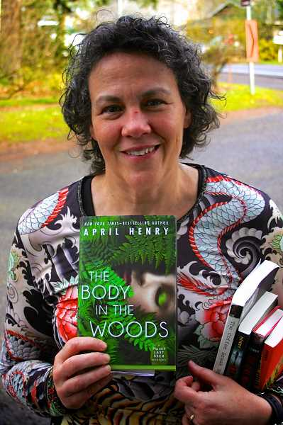 CONNECTION FILE PHOTO - Southwest Portland resident and bestselling author April Henry will speak at Annie Bloom's Books on May 10.