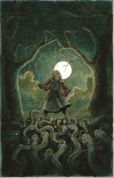 PHOTO COURTESY: CCC - Tyler Crook will show select pages from his comic book 'Harrow County.'