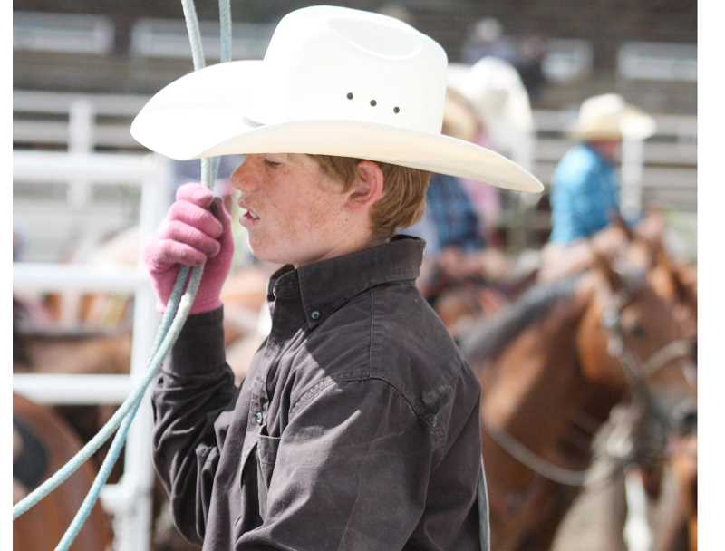 PHOTO COURTESY OF THE ROSE FAMILY - John Barry Rose, 15, was killed in a car accident on Nov. 11, 2016. Friends and family plan a John Barry Rose Memorial Invitational Ranch Rodeo for May 12 to raise funds for memorial scholarships.