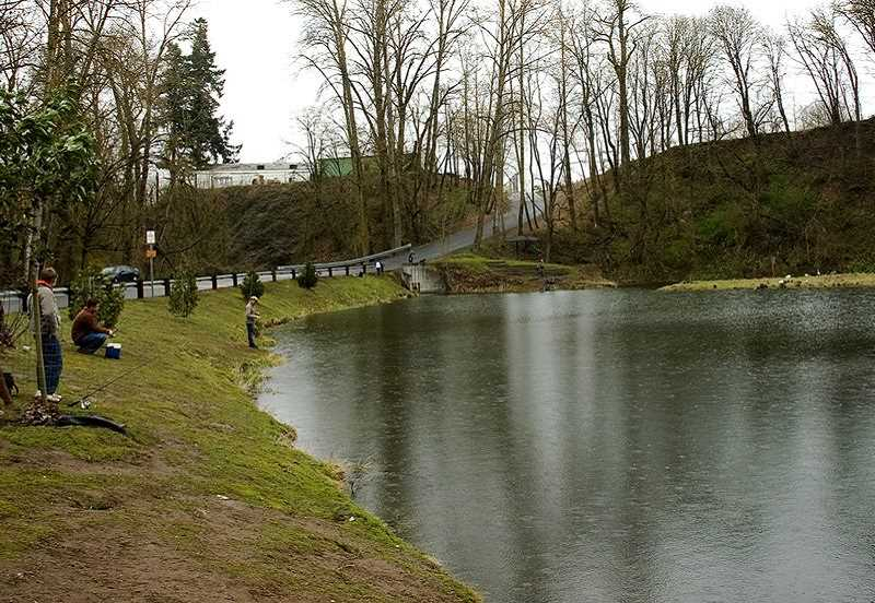 Canby Pond will be have a free family fishing event on Saturday through an ODFW program.