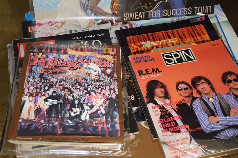 Music memorabilia across many eras will be available during the annual Record Bonanza April 15 at the Ackerman School.