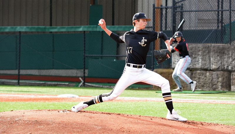 TIMES FILE PHOTO - Jesuit sophomore Mick Abel and the Crusader baseball team are among the top tier teams in the Metro League this year.