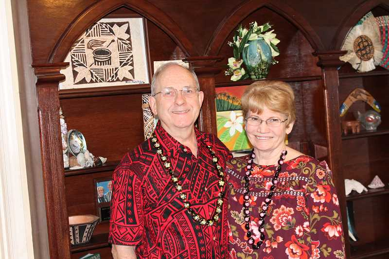 SPOKESMAN PHOTO: COREY BUCHANAN - Bob and Arthella Starke taught teachers and students during a trip to Samoa from 2016 to the end of 2017.