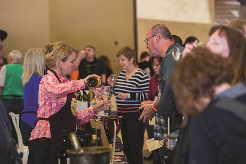 COURTESY PHOTO: CASCADE FOOTHILLS WINEGROWERS - The public is invited the Mount Angel Festhalle on April 28 to taste learn and celebrate wine grown by Cascade Foothill Winegrowers.