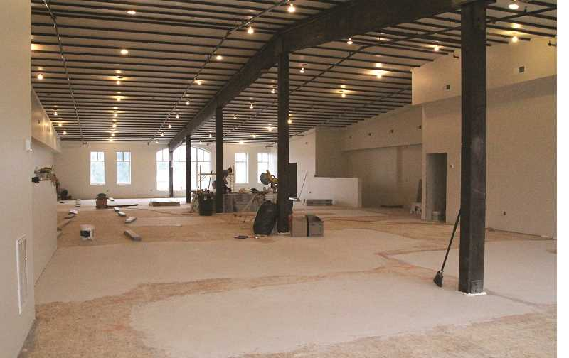 LINDSAY KEEFER - Metropolis Marketplace expects to open its event center, located upstairs, later this month.