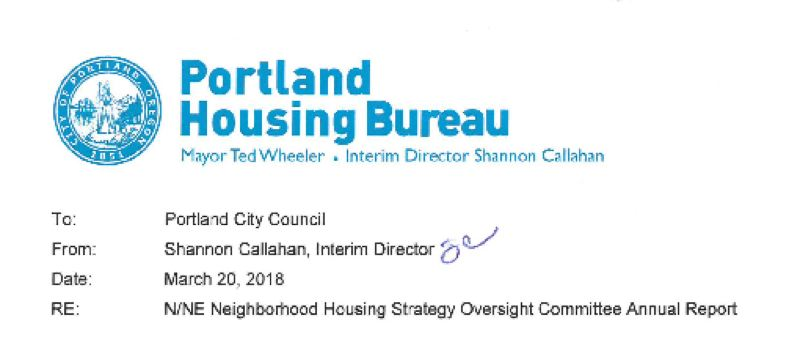 CITY OF PORTLAND - The City Council received the 2017 annual report on Wednesday.