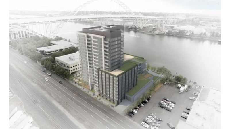 LINCLON PROPERTY CO. - The Fremont Place Apartments proposed for the Pearl District.