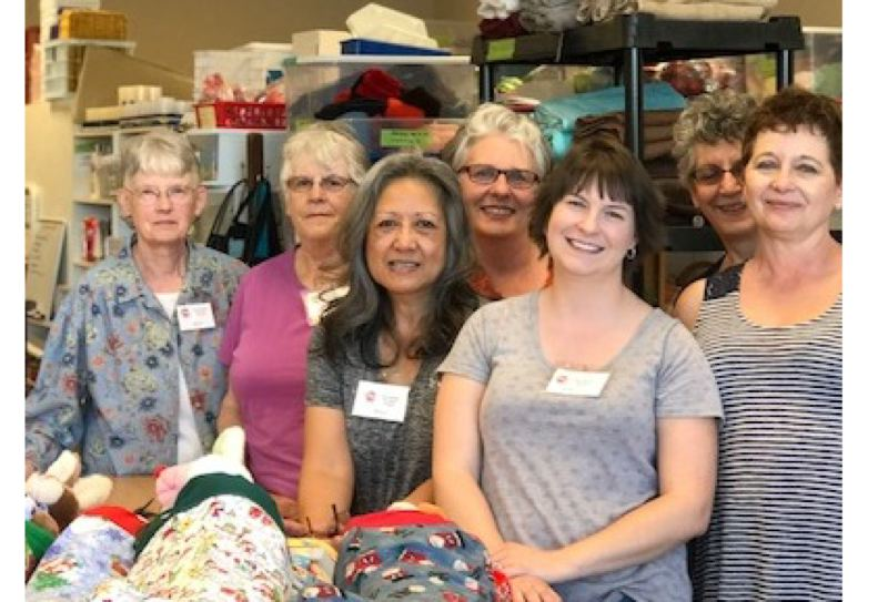 SUBMITTED PHOTO - FASFAH volunteers, from left, are Patty Sweet, Kathy Hogan, Willy Stalker, Merrianna Tolbert, Kayla Artman, Randi Thomas and Debby Keuler.