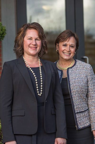 COURTESY PHOTO - St. Mary's Academy Principal Nicole Foran (left) and President Christina Friedhoff.