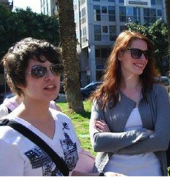 COURTESY PHOTO - Ariana Garay (left) and Francesca Cronan during a 2011 spring break trip to Italy. Garay alleges that she had a sexual relationship with Cronan, her sophomore English teacher, after she turned 16. Cronan says it was never more than imaginary role play designed to placate Garay.