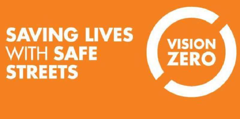 This is the logo for Portland's 'Vision Zero' traffic safety program.