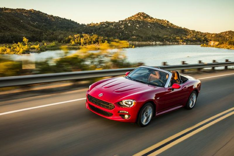 COURTESY FCA - The 2018 Fiat 124 Spider is captures the spirit of the best of the two-seaters sports cars from 1950s and 1960s.